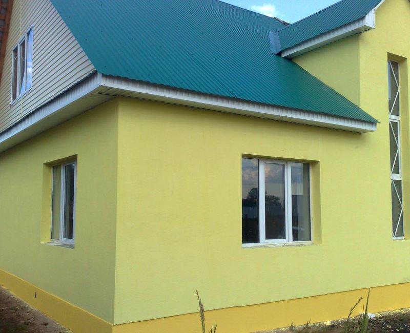 Декоративные элементы отделки фасада дома